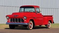 Auction Lot Dallas, TX The Tommy Cronk Collection. Loaded with factory 1955 accessories. Part of private collection for 33 years Lifted Ford Trucks, Old Trucks, Pickup Trucks, Chevy Trucks, 1955 Chevrolet, Pontiac Gto, Bugatti Veyron, Land Rover Defender, Old Cars