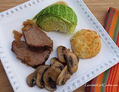 Slow Cooker Spiced Tri Tip Roast