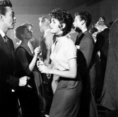 Nat Farbman - Dancing the mambo at San Francisco's Macumba Club, 1954.