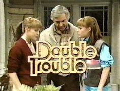 """I loved this show.""""Double Trouble"""" TV Show starring The Sagal Twins, Jean and Liz. 90s Childhood, My Childhood Memories, Old Shows, Cinema, Great Tv Shows, Double Trouble, Old Tv, Classic Tv, My Memory"""
