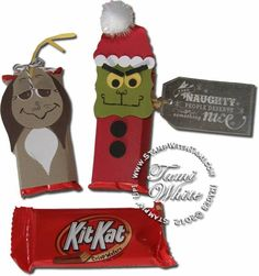 The Grinch Who Stole Xmas Kit Kats by the_tamster - Cards and Paper Crafts at Splitcoaststampers