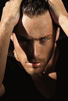 James Green By Kasia G eye candi, sexi, black dagger brotherhood, hot guy, hotti, green eyes, jame green, men, male models