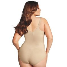 Plus Size Maidenform Shapewear Curvy Firm Wear Your Own Bra Body Shaper  DM1025 83c36fe0c