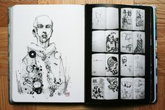 More Sketchbooks -- A Peek Inside the Notebooks of Great Creators, from Architecture to Advertising to Street Art | Brain Pickings