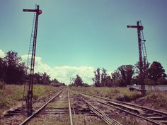 Vías del tren. Estación Camet. #mdq