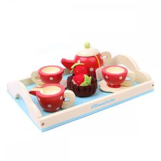 Le Toy Van wooden honeybake tea set