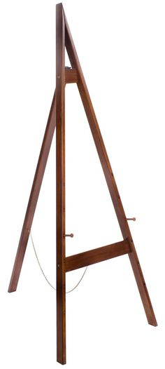My favorite – three colors to choose from Wood Easel for Floor with Height Adjustable Display Pegs – Honey Wheat Diy Easel, Wooden Easel, Pallet Crafts, Wood Crafts, Wood Projects, Woodworking Projects, Floor Easel, Pergola Pictures, Display Easel