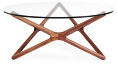 Star Glass Coffee Table