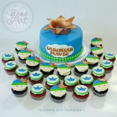 Cupcake Cakes, Cupcakes, Christening Cakes, Birthday Cake, Desserts, Food, Baptism Cakes, Tailgate Desserts, Cup Cakes
