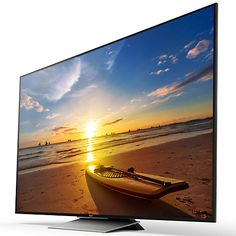 """Buy Sony Bravia 65XD9305 LED HDR 4K Ultra HD 3D Android TV, 65"""" With Youview/Freeview HD, Playstation Now & Floating Style Design Online at johnlewis.com"""