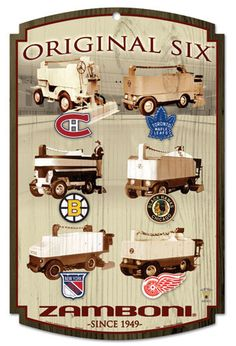 Original Six Zambonis