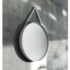 Miroir Hay STRAP MIRROR #miroir #entree #design #silveraeshop #design #silvera