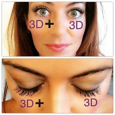 New 3D fiber lashes plus!!! AVAILABLE TODAY (JULY 15th)!!!! Order yours NOW!!! Double click on the pic to go to my website!