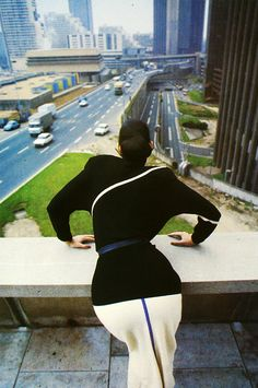 Helmut Newton for Thierry Mugler A/W 78-79