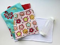 Try this easy sewing project -- a perfect baby shower gift for the new mom.