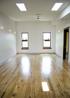 Tranquil Space Yoga Studio. Upstairs studio space.