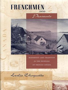 Modernity and tradition in the peopling of French Canada.  This looks really good!