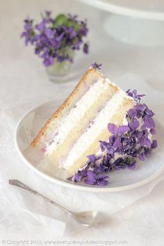 violets and vanilla