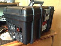 Field Day Battery Box – on the air Battery Hacks, Solar Battery, Portable Ham Radio, Ham Radio Equipment, Cargo Trailer Conversion, Truck Bed Storage, Solar Generator, Solar Power System, Field Day
