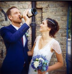Intimate London Pub Wedding: Alex  Sophia
