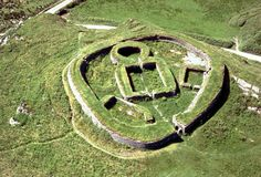 @irish archaeology 3m Aerial photo of Leacanabuaile fort, Co. Kerry. It dates from the 9th and 10th centuries AD (image by Con Brogan)
