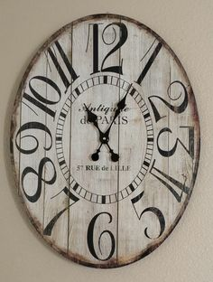 Client's Wall Clock