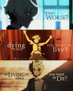 Living when you want to die, because you spend every second you're alive wishing you were dead