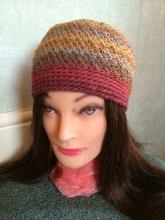 Ladies 100% wool hat, winter hat, woolly hat. by Alisonscrochet on Etsy https://www.etsy.com/uk/listing/458797910/ladies-100-wool-hat-winter-hat-woolly