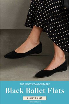 ballet flats will never go out of style. they're chic, they're comfortable and they match anything in your wardrobe. here are the best black ballet flats to shop now #balletflats #balletshoes #flats #classicshoes #womensshoes #amazonfinds Black Ballet Flats, Ballet Shoes, Best Black, Out Of Style, Going Out, Shop Now, Kitten Heels, Good Things, Chic