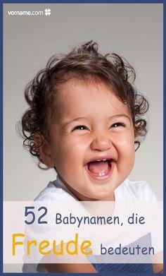 Glückliche Babys haben glückliche Namen. Finde jetzt passende Vornamen, die für Freude stehen.