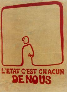 La gràfica de la revolta del Maig del 68
