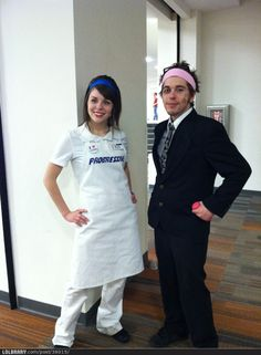 Flo & Mayhem Cosplay! I WANT TO BE FLO FOR HALLOWEEN THIS IS SO NEAT!!!!! IMA BE A PENTECOSTAL VERSION THO!!