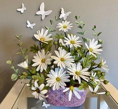 Daisy sugar flowers bouquet by Mariano Sanchez