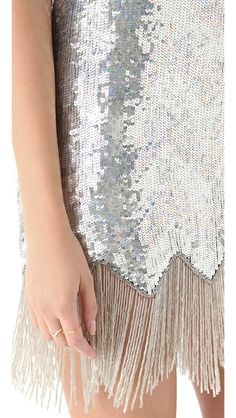 Sparkles and fringe? Yes, please!