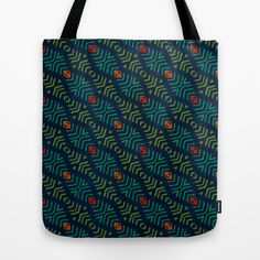 AMAZONIA Tote Bag by Wagner Campelo | Society6