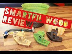 Review de filamento: SmartFil Wood Smart Materials