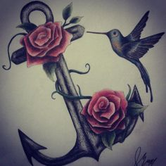 smaller roses and different anchor Feminine Anchor Tattoo, Anchor Tattoo Design, Anchor Tattoos, Small Rose, Beauty Hacks, Beauty Tips, Tattoo Designs, Tattoo Ideas, Tattoos For Women