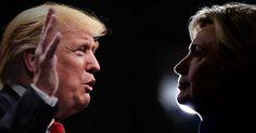 Un millonario y dos generales, entre los invitados al debate Clinton-Trump