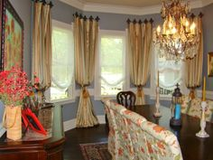 Window Treatments, Draperies and Curtains