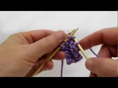 Really Clear: 3-Needle Bind-off (cc)
