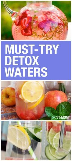 GET YOUR DETOX ON with these cleansing water recipes.