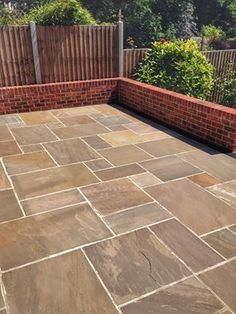 Check out the best driveway contractors in South east that provide patios installation services. Our experts are highly skilled and dedicated to cater the needs of their clients. To avail our services, connect us through our website! Back Garden Design, Backyard Garden Design, Small Backyard Landscaping, Patio Design, Garden Slabs, Garden Paving, Driveway Contractors, Limestone Patio, Patio Installation