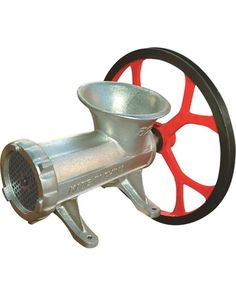 High-capacity Kitchener grinder can be operated manually. Or you can power it with an electric motor max. 1 HP, 1700 RPM, motor not included using the Best Whitening Toothpaste, Distilling Equipment, Toilet Brushes And Holders, Best Commercials, Best Meat, Electric Motor, Better Homes And Gardens, Pulley, Kitchenware