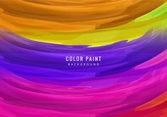 Fondo abstracto colorido Color Vector, Vector Art, Paint Background, Clipart, Paint Colors, Templates, Wallpaper, Creative, Painting