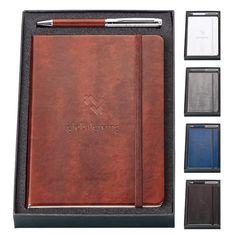 Fabrizio Pen and Journal Set. #giftset #promo #journals #otp