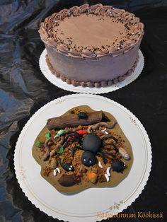 Kääpiölinnan köökissä: Pienen pojan suklainen ötökkäkakku ♥