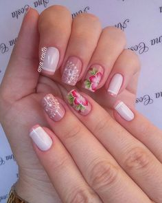 59 Modelos de Unhas com Esmalte Nude Pineapple Images, Manicure And Pedicure, Pretty Nails, Nail Art Designs, Hair Beauty, Polish, Jelsa, How To Make, Mid Century