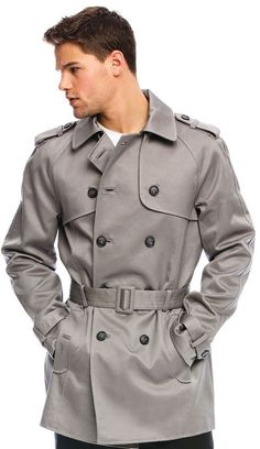 The trench coat is an item that every gentleman should own. It exudes sophistication and class. Armani Exchange provides a nice variation for the Spring in their Armani Exchange Men's Classic Trenc...