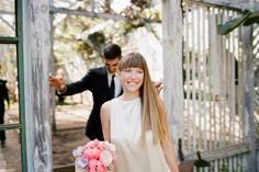 Love this - The Bride looks radiant - Kerry & Nelson wedding by Tec Petaja Photo