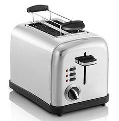 Original Melissa- 2-Scheiben-Toaster in Chrom| Toaster im exklusiven skandinavischen Design